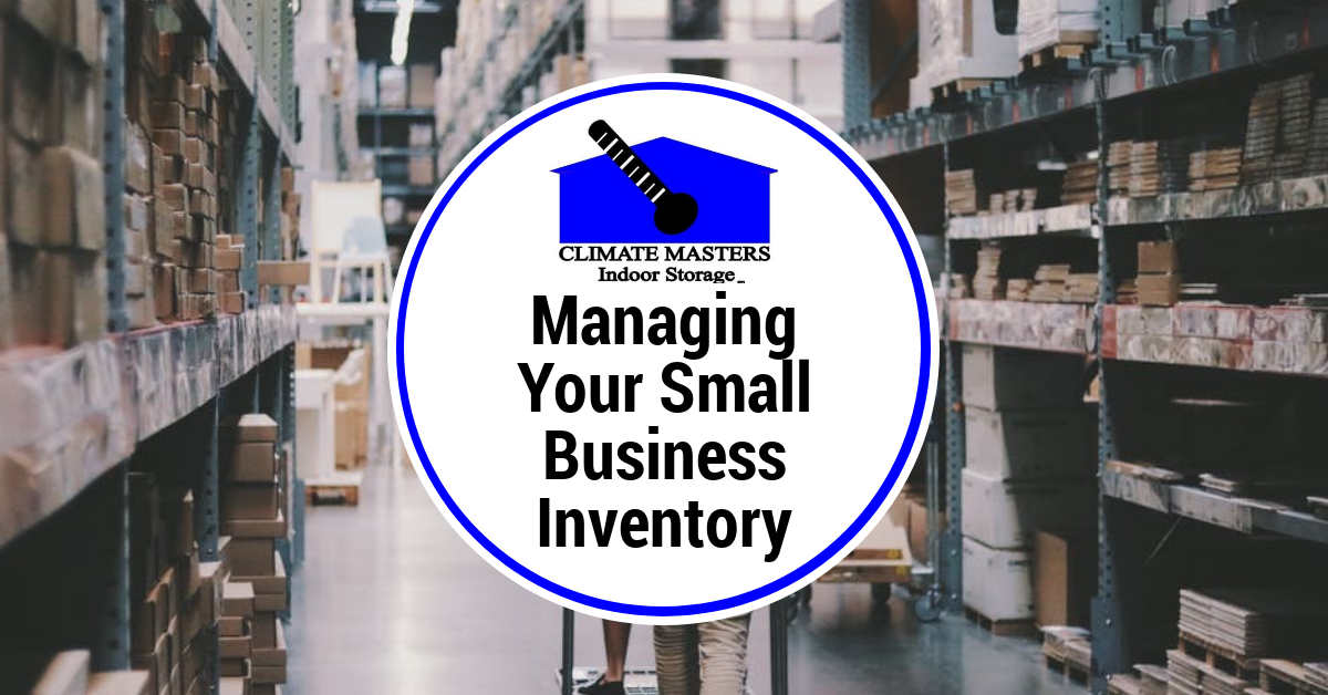 Managing Your Small Business Inventory