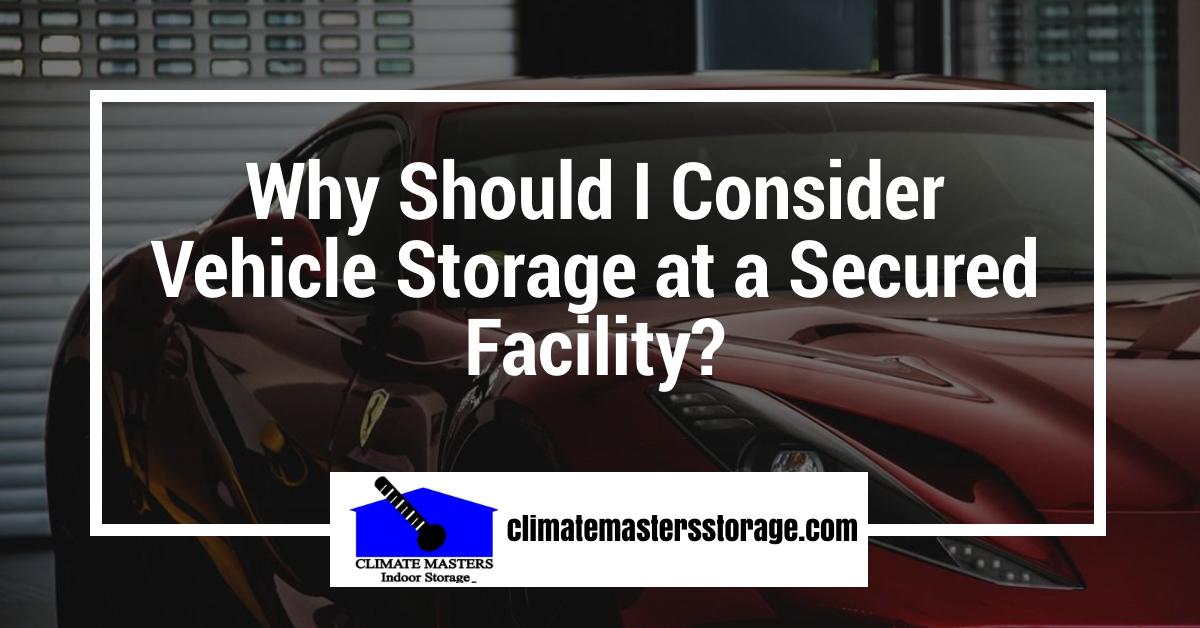 auto storage, RV storage
