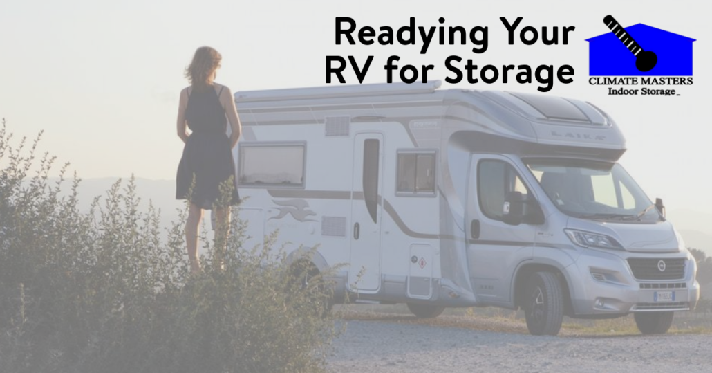 Readying Your RV for Storage