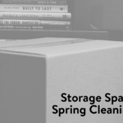 Storage Space Spring Cleaning